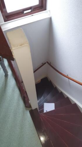trap 2e verdieping oude situatie